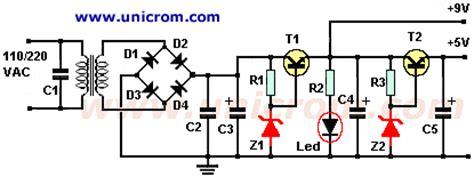fuente de voltaje 5 y 9 vdc electr 243 nica unicrom