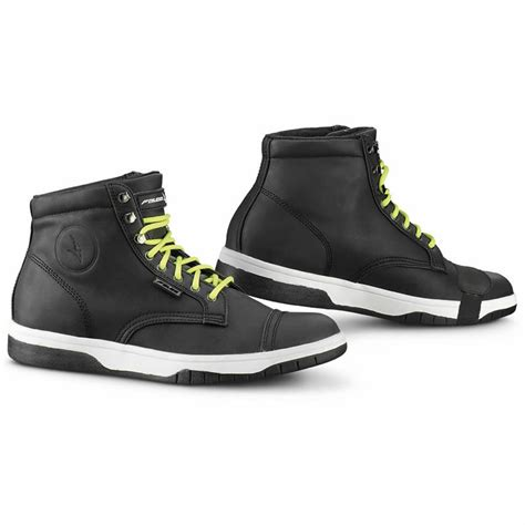 motorbike footwear falco juke short urban motorcycle breathable scooter