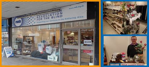 charity shops northtonshire association for the blind