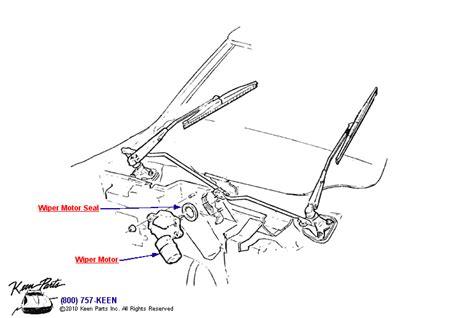 Corvette Wiper Assembly Parts Accessories
