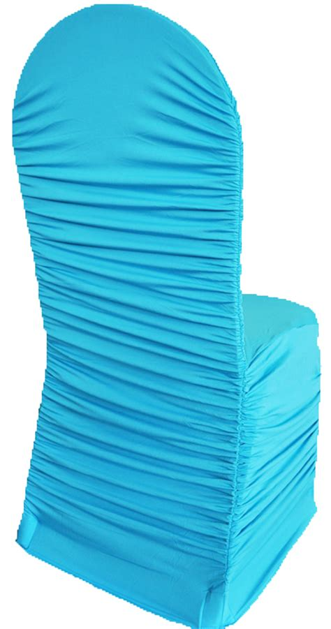 turquoise spandex stretch chair covers