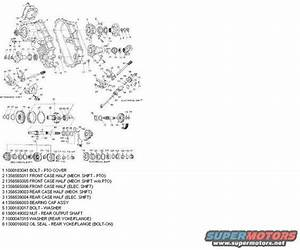 1996 Ford Bronco Technical Info Picture