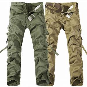 2015 Outdoor sports Men overalls pants army green Military ...