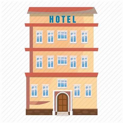 Cartoon Building Apartment Clipart Transparent Office Icon