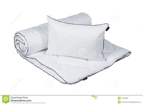 Bed With Blanket And Pillow Isolated On White Stock Photography At What Age Can My Child Start Sleeping With A Blanket 100 Linen Baby Knitting Patterns New Zealand Merino Wool Blankets Personalized Gifts For Him Or Throws Pillsbury Biscuit Pigs In Recipe Jason Sherpa Electric Natural King Dog Swaddles