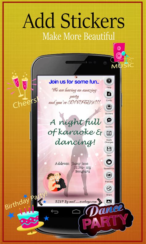 party invitation card maker android apps  google play