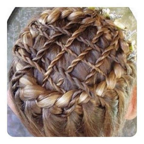 woven braided crown fantasy hairstyle unique hairstyles