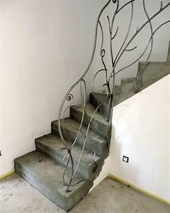 Rambarde Fer Forgé : rambarde escalier originale trendy garde corps escalier ~ Dallasstarsshop.com Idées de Décoration