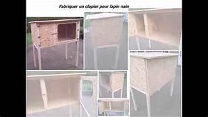 Maison Pour Lapin : fabriquer un clapier en bois pour lapin nain youtube ~ Premium-room.com Idées de Décoration