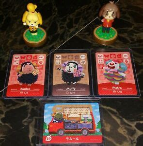 Eries amiibo cards and amiibo figures, or use the filter to find specific characters. 4 SHEEP CARD LOT Pietro, Muffy, Eunice, Cashmere Animal Crossing Amiibo Cards US | eBay
