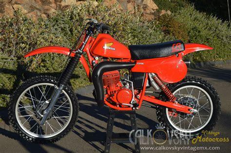 restored vintage motocross bikes for sale 1980 honda cr250 elsinore vintage motocross dirt bike