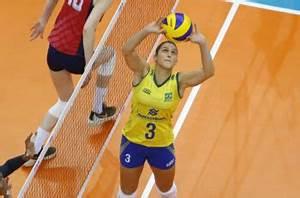 Brazil Volleyball Player Best Setter Helia Fofao Souza