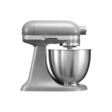 kitchenaid mini mixer matte grey home appliances  powerhouseje uk