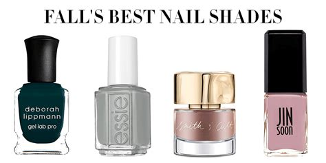 Best Fall Nail Polish Colors