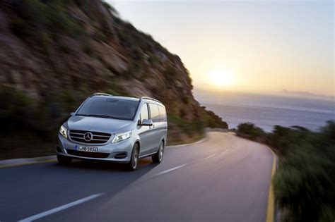 The vaneo and the viano. Mercedes-Benz V-Class Minivan Ripe for US Market - Motor Review