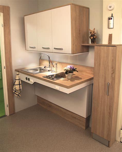 mod鑞e cuisine equipements intérieurs hamo cottage pour personnes âgées