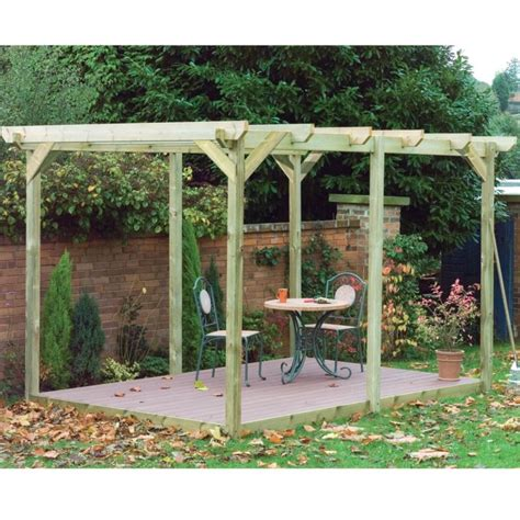 pergola prices pergola deck kit