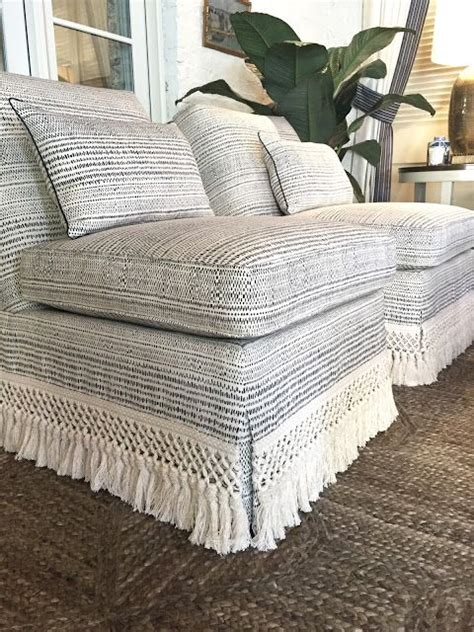Slipper Chair Slipcover by Atlanta Home For The Holidays Showhouse For The Home