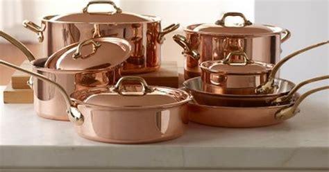 wishful thinkingi love  mauviel copper  piece cookware set  williams sonoma