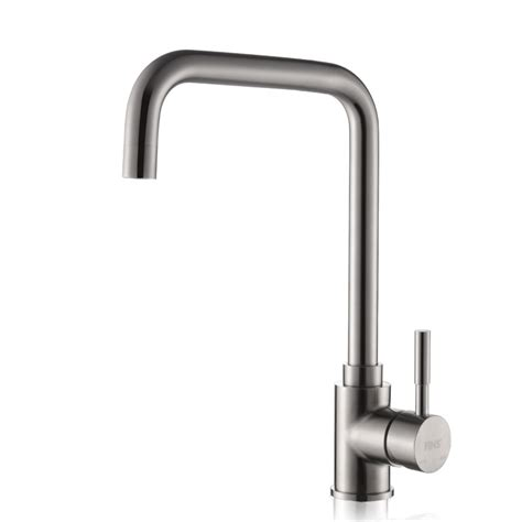 square kitchen faucet square kitchen faucet brushed silver stainless steel