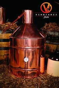 20 Gallon Copper Whiskey Moonshine Liquor Still From