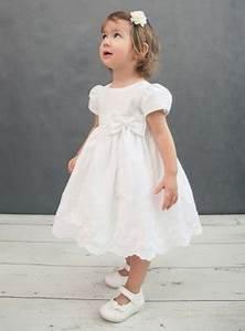 robe de bapteme fille bebe coton blanche f0026 With robe de mariée hiver avec bijoux bapteme pas cher