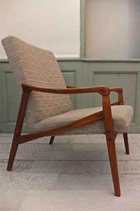 Fauteuil Années 50 : slavia vintage mobilier vintage fauteuil style scandinave des ann es 60 borgen ~ Dallasstarsshop.com Idées de Décoration