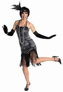 1920 Womens Flirty Flapper Girl Costume - Mr Costumes