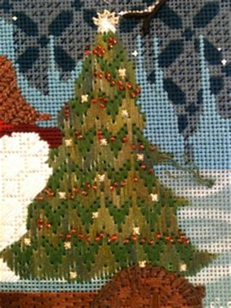 Best Images About Needlepoint  Ee  Christmas Ee   Trees On