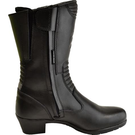 waterproof leather motorcycle boots oxford savannah ladies leather waterproof motorcycle boots