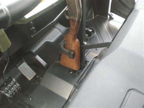 quick draw supreme gun rack utv canada