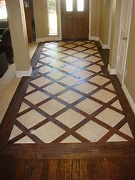 Wood and Tile Floor Design Ideas