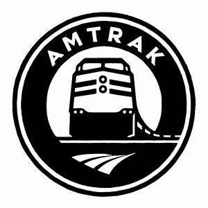 Amtrak logo by Michael Schwab | Cutesy Randomness | Pinterest