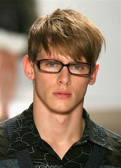 Picture Of Angular Fringe Hairstyle Ideas For Men
