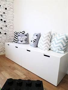 Chambre Ikea Enfant : rangement chambre enfant ikea stuva cushion pouf pillow pinte ~ Teatrodelosmanantiales.com Idées de Décoration