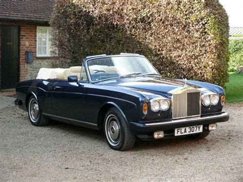 Rolls Royce Corniche Convertible by For Sale 1982 Rolls Royce Corniche Convertible Classic