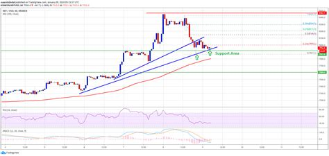 This market price may not be exact, because the market. Bitcoin Starts Corrective Decrease But Bulls Not Out Of ...
