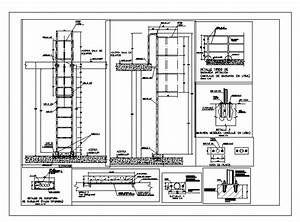 Guardacuerpo Cat Ladder; Standards Details DWG Detail for