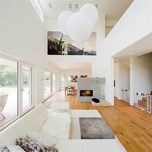 Raumteiler Wohnzimmer Essbereich : 70 wohnideen f rs wohnzimmer aus architektenh usern ~ Frokenaadalensverden.com Haus und Dekorationen