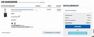 Taschen Auf Rechnung : gutschein koffer direkt ~ Themetempest.com Abrechnung