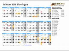 Kalender 2018 Thüringen zum Ausdrucken « KALENDER 2018