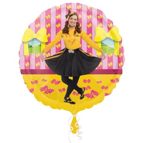 emma wiggle anagram foil balloon character parties australia