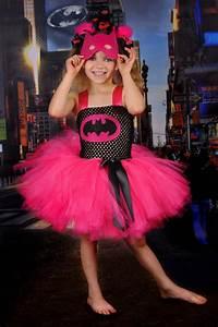 Batman, Superhero, Girly, Costume, Black, And, Pink