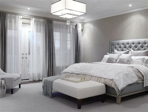 And Gray Bedroom by Dove Gray Home Decor Luxe Modern Bedroom In Grey More