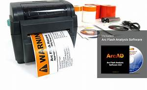 Labeltac 4 arc flash package arc flash solution for Arc flash label printer