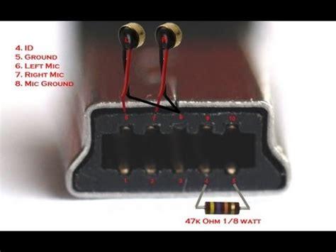 diy gopro 3 waterproof microphone wiring diagram 10 pin mini usb to external mic hero3