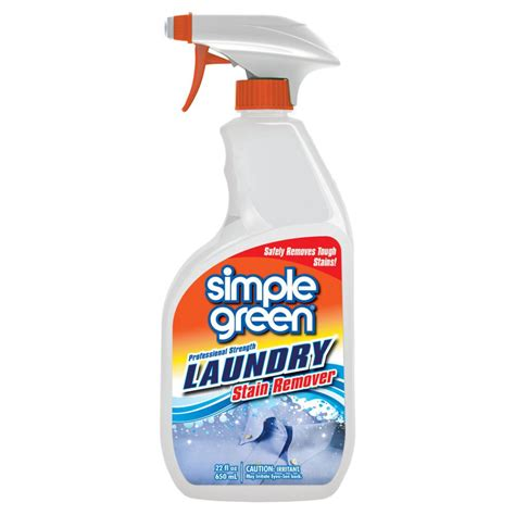 Stain Remover Products by Simple Green 22 Oz Ready To Use Fabric Laundry Stain