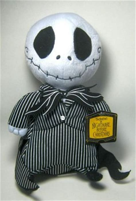 jack skellington stubby plush doll   nightmare