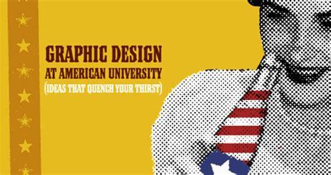 graphic design  american university american