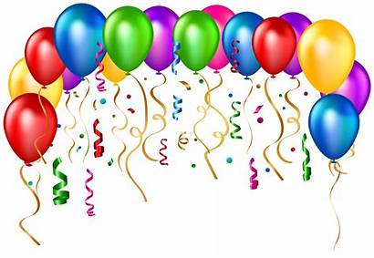 Balloons Birthday Transparent Clip Clipart Happy Balloon